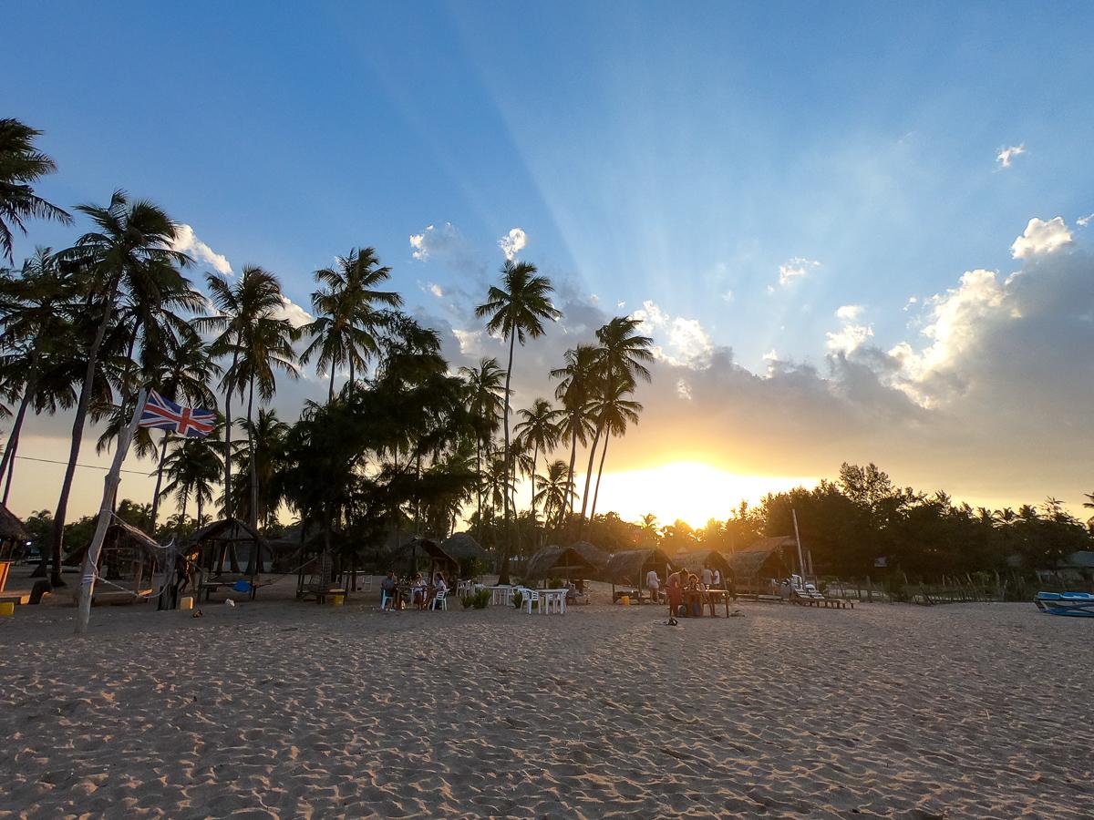 Sri Lanka Trincomalee Nilaveli Plage Soleil