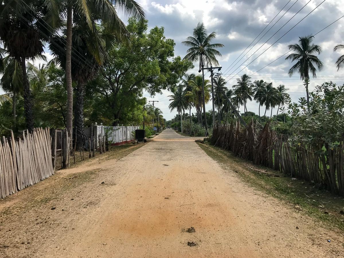Sri Lanka Trincomalee Nilaveli Village