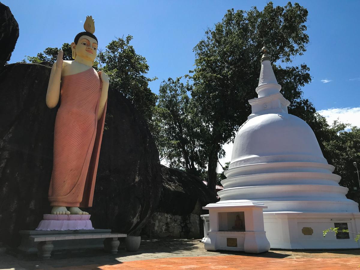 Sri Lanka Unawatuna Yatagala Temple