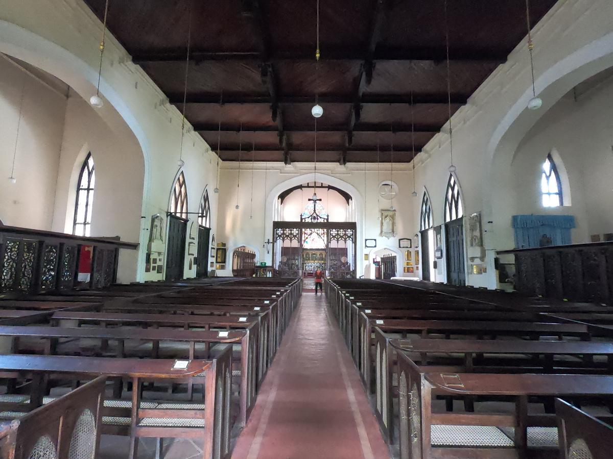 Sri Lanka Kandy Eglise Saint Paul