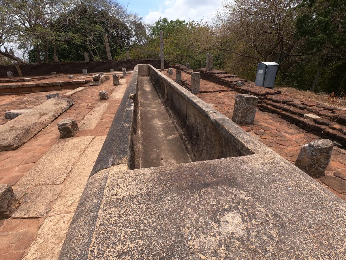 Sri Lanka Mihintale Relic House