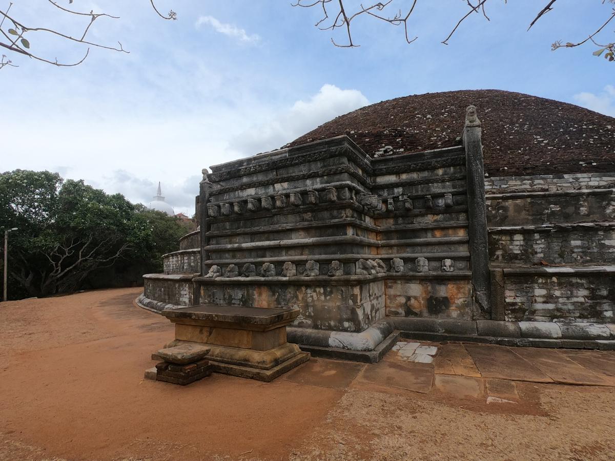 Sri Lanka Mihintale Kantaka Chetiya Stupa