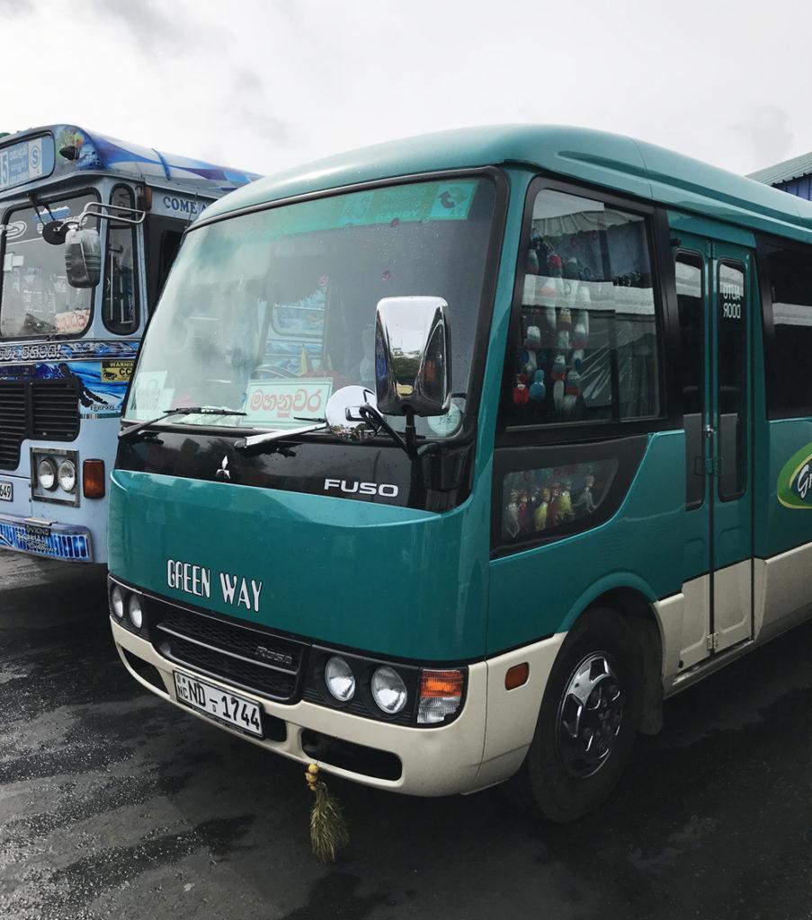 Sri Lanka Bus Private Dambulla