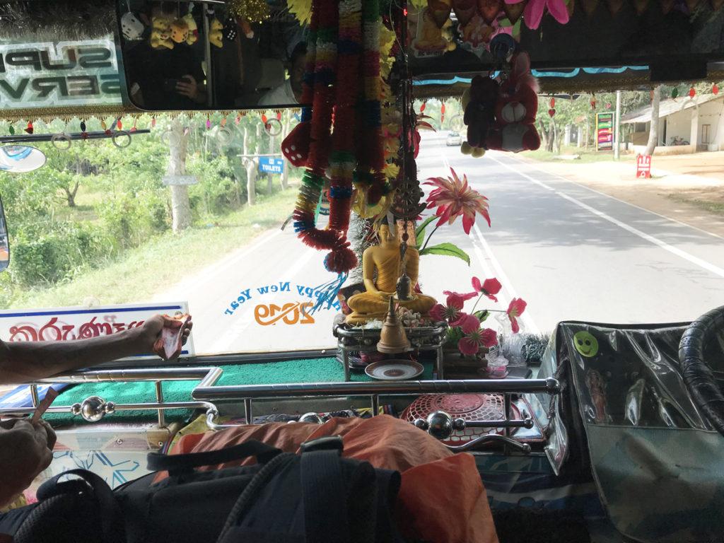 Sri Lanka Bus décoration