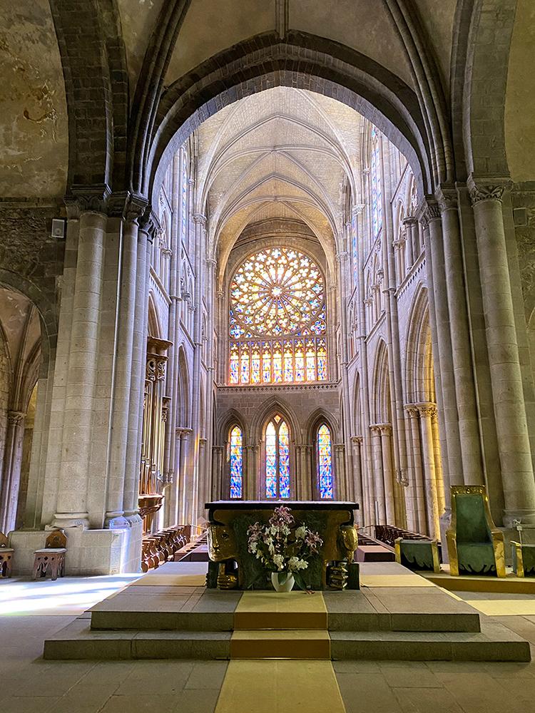 Nef de la Cathédrale Saint Vincent de Saint Malo