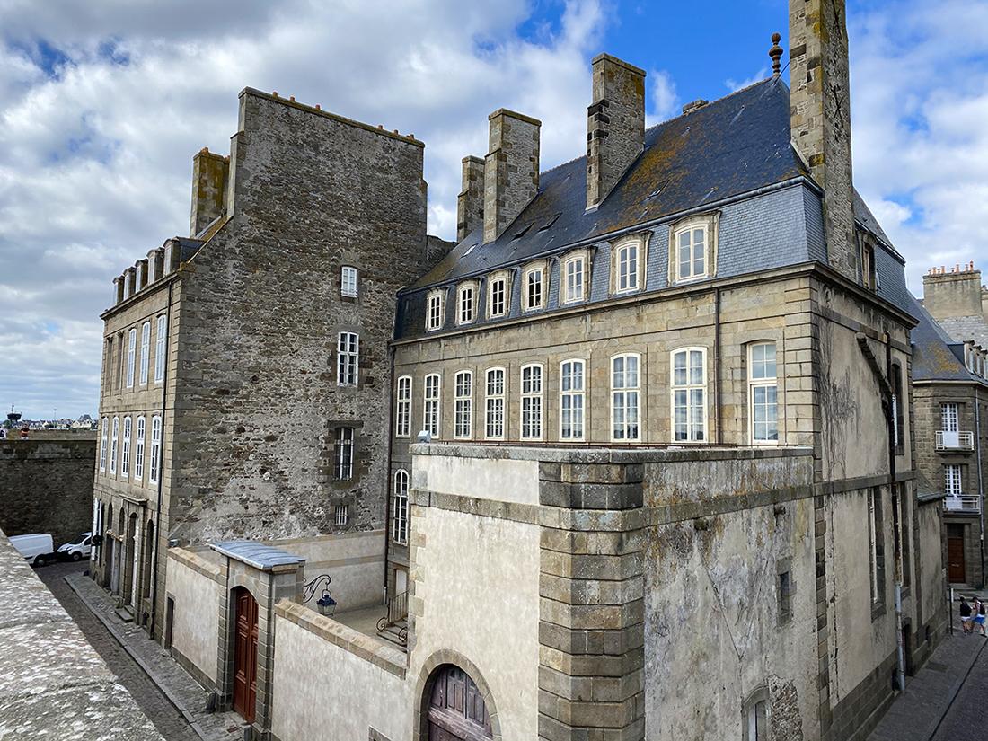 Vue extérieur de l'Hôtel Magon à Saint-Malo