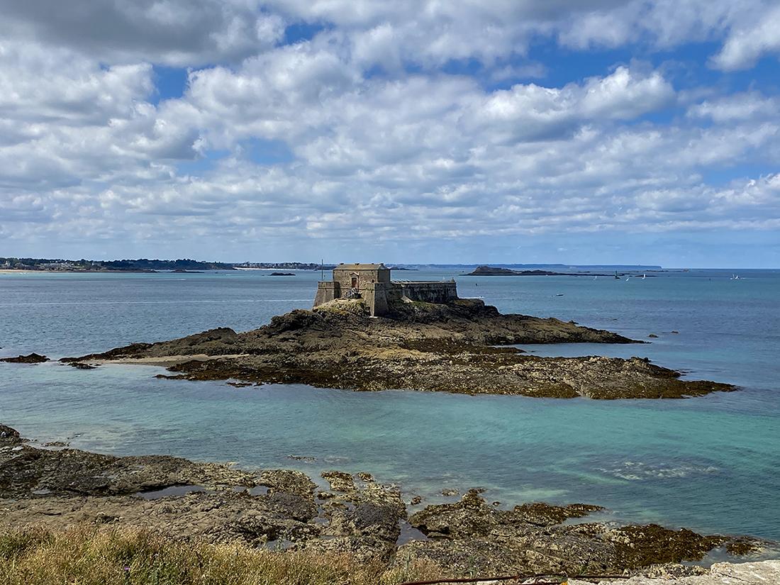 Vue du fort du Petit Bé de Saint-Malo