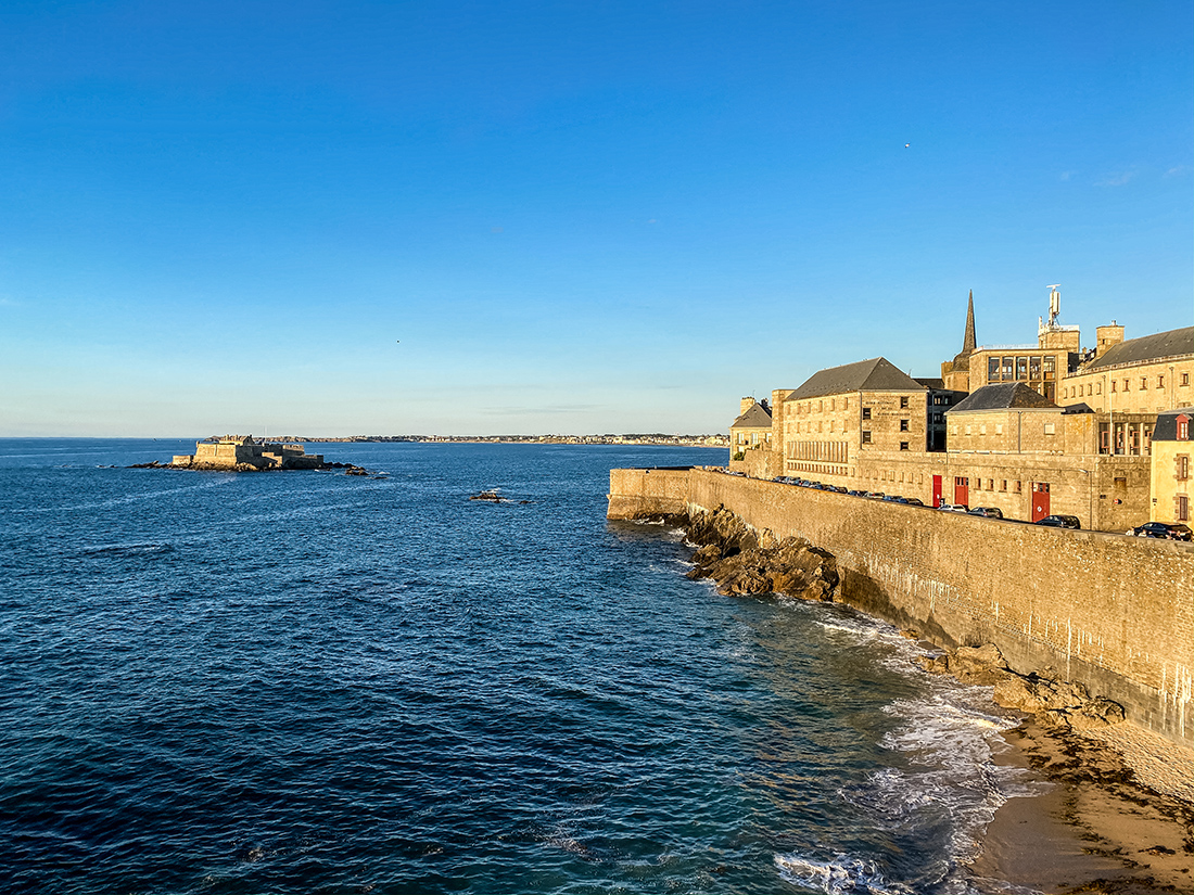 Coucher de soleil sur Saint-Malo