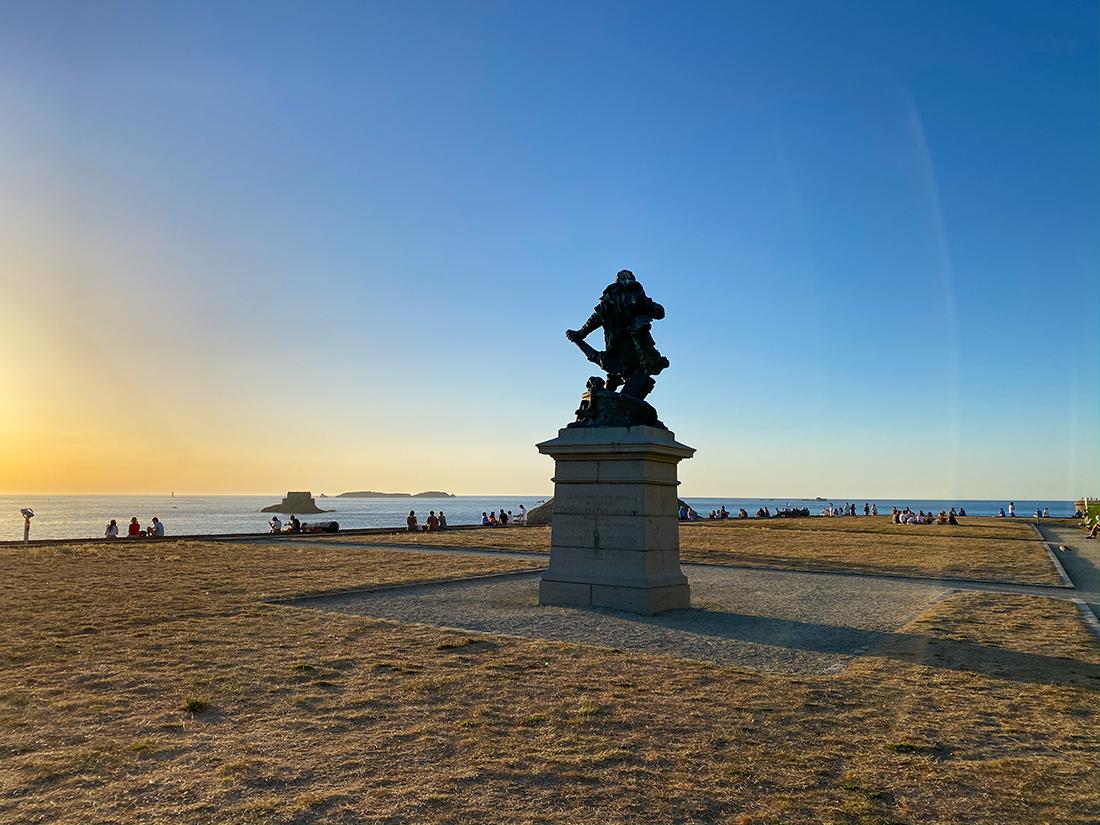 Coucher de soleil depuis le Bastion de la Hollande