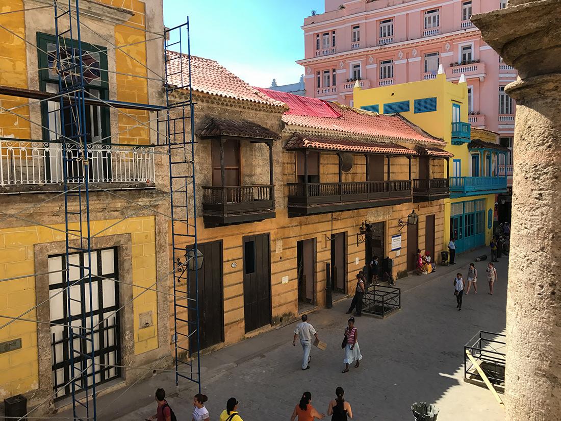 Calle Obispo de la Havane