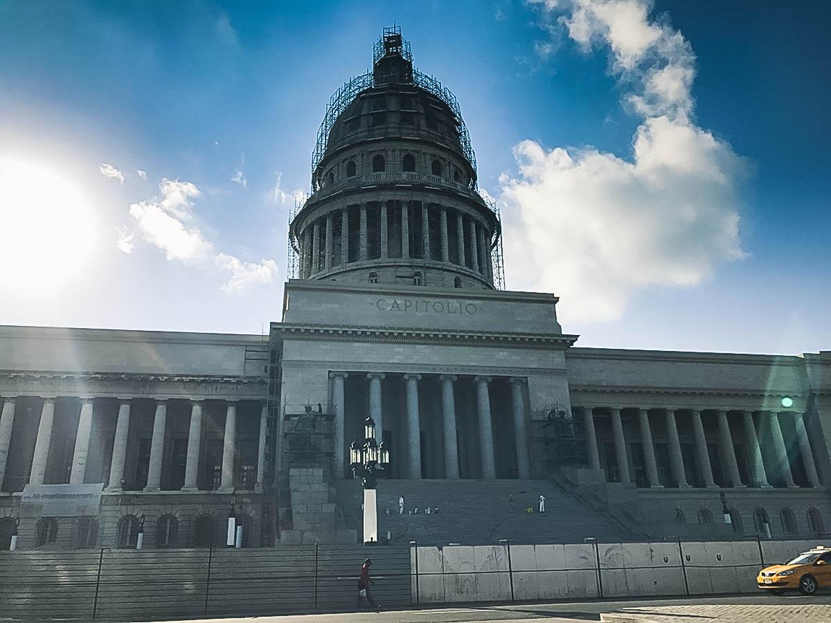 Capitole de la Havane à Cuba
