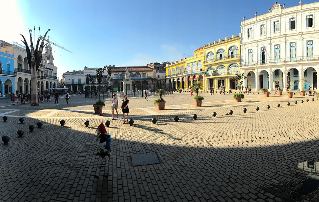 Plaza Vieja de la Havane