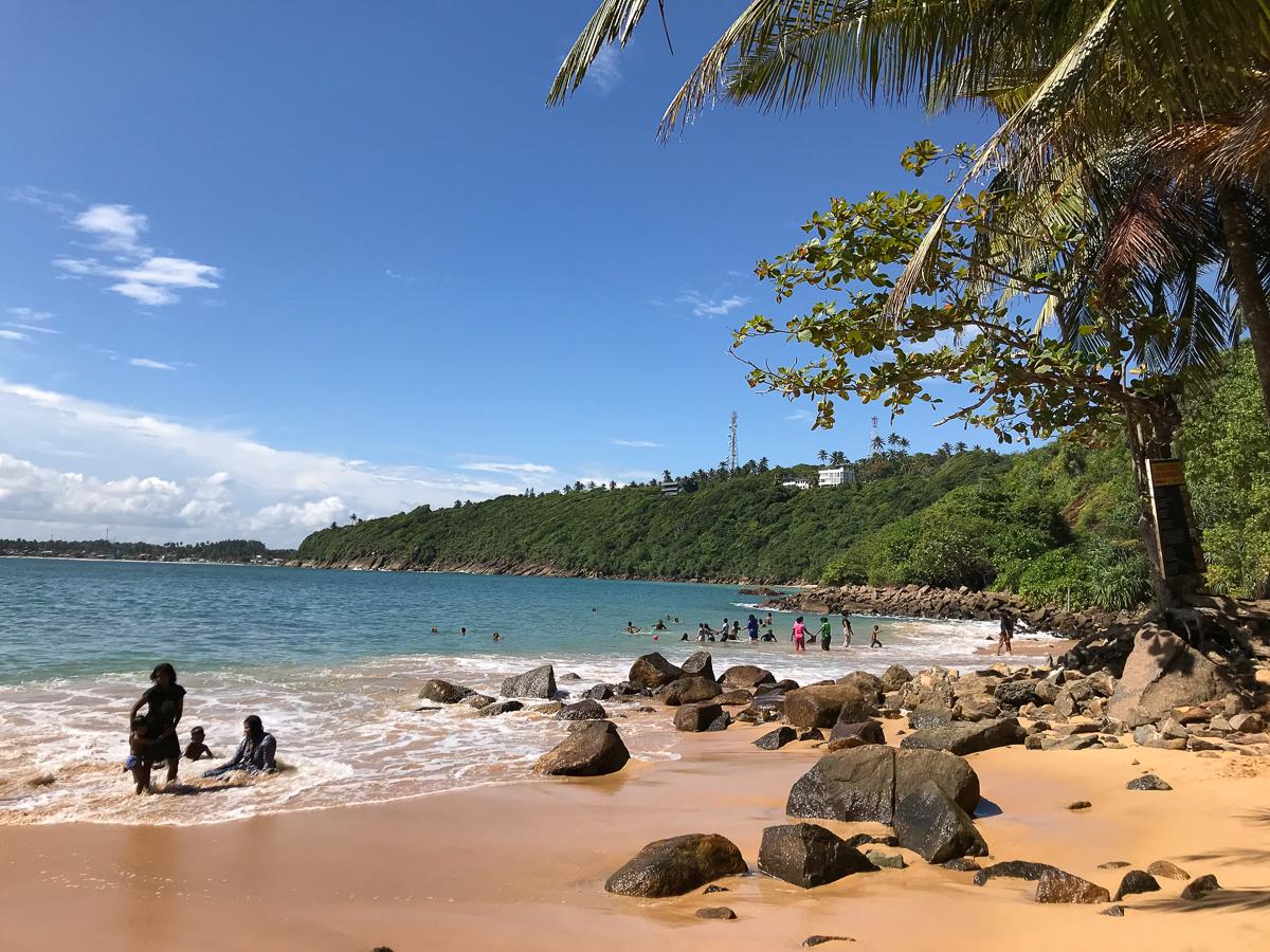 Plages Sri Lanka Unawatuna Jungle Beach