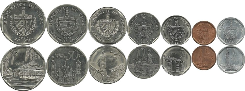 monnaie de cuba CUC